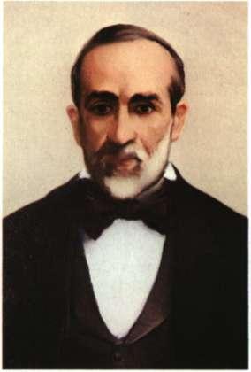 Γεώργιος-Μάρκος Τερτσέτης. Λογοτέχνης και δικαστικός. Ελαιογραφία (Αθήνα, Εθνικό Ιστορικό Μουσείο).