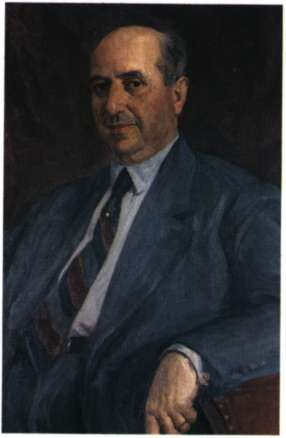 Ο συλλέκτης Ευριπίδης Κουτλίδης. Ελαιογραφία του Α. Γεωργιάδη (Αθήνα, Εθνική Πινακοθήκη).