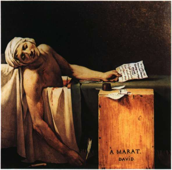 Μαρά (Marat), Ζαν - Πωλ (1743 - 1793)