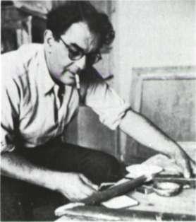 Ο ζωγράφος Γιάννης Μηταράκης.