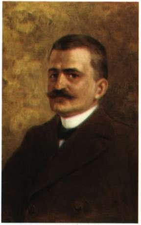 Κωνσταντίνος Μητσόπουλος. Φυσιοδίφης, καθηγητής Πανεπιστημίου. Ελαιογραφία (Πανεπιστήμιο Αθηνών).