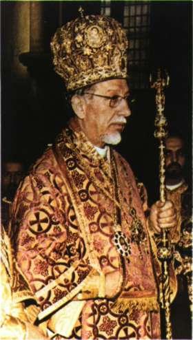 Ο αρχιεπίσκοπος Θυατείρων Αθηνα- γόρας Β'.