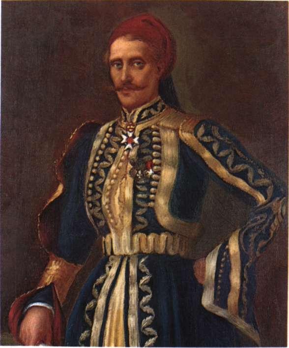 Αινιάν, Χριστόδουλος (Μαυρίλο Τυμφρηστού, 1794 - Αθήνα 1850)