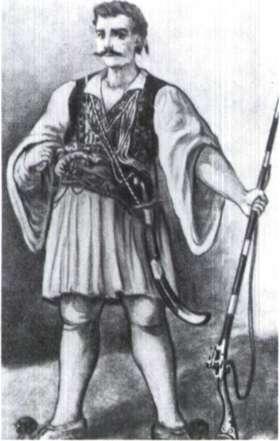 Παναγιώταρος Βενετσανάκης. Ένας από τους ηρωικότερους κλέφτες του Μοριά στα προεπαναστατικά χρόνια.
