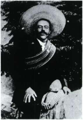 Πάντσο Βίλλια. Μεξικανός ληστής και επαναστάτης.